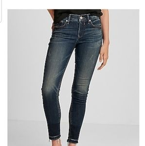 Express Mid Rise Eco Friendly Jean Ankle Leggings